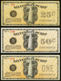 Obsoletes By State:Oregon, Silverton, OR- Silverton Scrip 25¢; 50¢; $1 Apr. 10, 1933 Shafer OR350-.25a; .50a; 1a.. ... (Total: 3 notes)