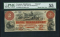 Obsoletes By State:Vermont, Middlebury, VT- Bank of Middlebury Altered $2 Mar. 1, 1860 A5 Coulter 3 PMG About Uncirculated 55.. ...
