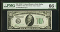 Small Size:Federal Reserve Notes, Fr. 2008-K $10 1934C Wide Federal Reserve Note. PMG Gem Uncirculated 66 EPQ.. ...