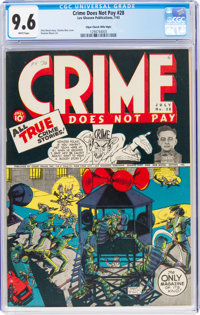 Crime Does Not Pay #28 Mile High Pedigree (Lev Gleason, 1943) CGC NM+ 9.6 White pages