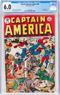 Golden Age (1938-1955):Superhero, Captain America Comics #46 (Timely, 1945) CGC FN 6.0 Off-white to white pages....