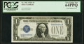 Small Size:Silver Certificates, Low Serial Number 81 Fr. 1601 $1 1928A Silver Certificate. PCGS Very Choice New 64PPQ.. ...