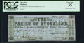 Obsoletes By State:Louisiana, Marksville, LA- Parish of Avoyelles $20 Jan. 25, 1863 PCGS Very Fine 35.. ...