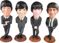 "Music Memorabilia:Memorabilia, The Beatles Esco 18"" Statue Set (4) (1984)...."