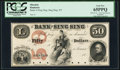 Obsoletes By State:New York, Sing Sing, NY- Bank of Sing Sing $50 18__ G14a Proof PCGS Gem New 65PPQ.. ...