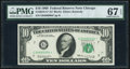 Small Size:Federal Reserve Notes, Fr. 2018-G* $10 1969 Federal Reserve Star Note. PMG Superb Gem Unc 67 EPQ.. ...