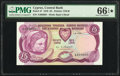 World Currency, Cyprus Central Bank of Cyprus 5 Pounds 1.6.1979 Pick 47 PMG Gem Uncirculated 66 EPQ★ .. ...