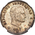 Italy:Kingdom of Napoleon, Italy: Kingdom of Napoleon. Napoleon 5 Lire 1812-M MS66 NGC,...