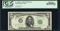 Fr. 1964-E* $5 1950C Federal Reserve Star Note. PCGS Choice New 63PPQ