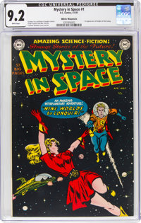 Mystery in Space #1 White Mountain Pedigree (DC, 1951) CGC NM- 9.2 White pages