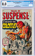 Silver Age (1956-1969):Science Fiction, Tales of Suspense #14 (Marvel, 1961) CGC VF 8.0 White pages....