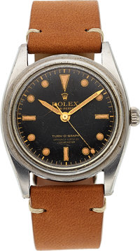 "Rolex, Very Rare Ref. 6202 ""Turn-O-Graph"", Oyster Perpetual Chronometer, Circa 1963"