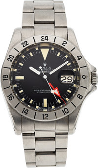 Rolex, The Julian Nott Collection Ref. 1655 Explorer II, Issued and Used During 1974 Record Breaking Elevation of 45,836...