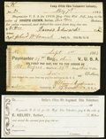 Sutlers for Ohio Volunteers Three Examples. ... (Total: 3 notes)