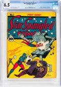 Golden Age (1938-1955):Superhero, Star Spangled Comics #1 (DC, 1941) CGC FN+ 6.5 Off-white pages....
