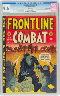 Golden Age (1938-1955):War, Frontline Combat #6 Gaines File Pedigree 2/9 (EC, 1952) CGC NM+ 9.6 White pages....