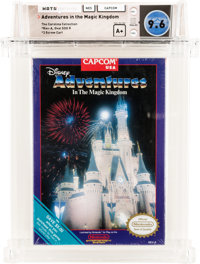 Adventures in the Magic Kingdom [Oval SOQ R] - Carolina Collection Wata 9.6 A+ Sealed NES Capcom 1990 USA