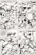 Original Comic Art:Panel Pages, Jack Kirby and Vince Colletta Superman's Pal, Jimmy Olsen #139 Story Page 16 Don Rickles Original Art (DC, 1971)....