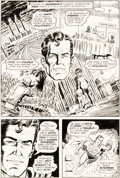 Original Comic Art:Panel Pages, Curt Swan and Murphy Anderson Superman #243 Story Page 5 Original Art (DC, 1971)....
