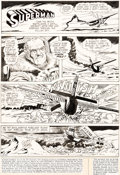 Original Comic Art:Panel Pages, Curt Swan and Murphy Anderson Action Comics #407 Story Page 1 Original Art (DC, 1971)....
