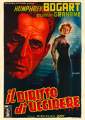 "Movie Posters:Film Noir, In a Lonely Place (Columbia C.E.I.A.D., 1951). Fine/Very Fine on Linen. Italian 4 - Fogli (55"" X 77.5"") Anselmo Ballester Ar..."