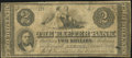 Obsoletes By State:New Hampshire, Exeter, NH- Exeter Bank $2 Dec. 3, 1855 Very Good-Fine.. ...