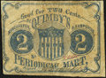 Obsoletes By State:New Hampshire, Manchester, NH- Quimby's Periodical Mart 2¢ ND (ca. 1862) Very Good-Fine.. ...