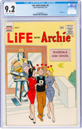 Silver Age (1956-1969):Humor, Life With Archie #9 (Archie, 1961) CGC NM- 9.2 Off-white to white pages....