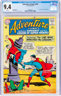 Silver Age (1956-1969):Superhero, Adventure Comics #328 (DC, 1965) CGC NM 9.4 White pages.