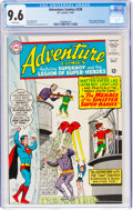 Silver Age (1956-1969):Superhero, Adventure Comics #338 (DC, 1965) CGC NM+ 9.6 White pages....