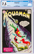 Silver Age (1956-1969):Superhero, Aquaman #11 (DC, 1963) CGC VF- 7.5 White pages. Fi...