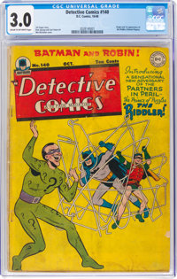 Detective Comics #140 (DC, 1948) CGC GD/VG 3.0 Cream to off-white pages