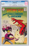 Silver Age (1956-1969):Superhero, Showcase #6 Challengers of the Unknown (DC, 1957) CGC FN+ ...