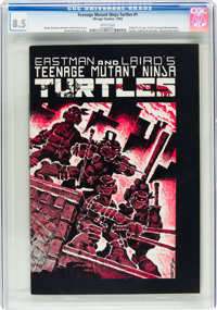Teenage Mutant Ninja Turtles #1 (Mirage Studios, 1984) CGC VF+ 8.5 White pages
