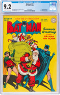 Golden Age (1938-1955):Superhero, Batman #27 (DC, 1945) CGC NM- 9.2 Off-white to white pages....