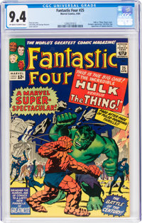 Fantastic Four #25 (Marvel, 1964) CGC NM 9.4 Off-white to white pages