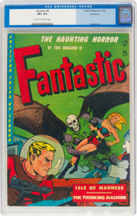 Fantastic #8 Northford Pedigree (Youthful Magazines, 1952) CGC VF+ 8.5 Cream to off-white pages