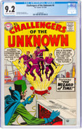 Silver Age (1956-1969):Superhero, Challengers of the Unknown #4 (DC, 1958) CGC NM- 9.2 Off-w...