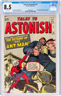 Tales to Astonish #35 (Marvel, 1962) CGC VF+ 8.5 White pages