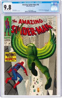 The Amazing Spider-Man #48 (Marvel, 1967) CGC NM/MT 9.8 Off-white to white pages