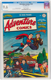 Adventure Comics #160 (DC, 1951) CGC NM+ 9.6 Off-white pages