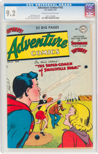 Adventure Comics #162 (DC, 1951) CGC NM- 9.2 Cream to off-white pages
