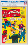 Golden Age (1938-1955):Superhero, Adventure Comics #163 (DC, 1951) CGC NM 9.4 Off-white to white pages....