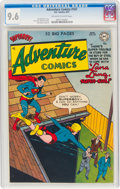 Golden Age (1938-1955):Superhero, Adventure Comics #167 (DC, 1951) CGC NM+ 9.6 Off-white to white pages....