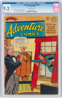 Adventure Comics #169 (DC, 1951) CGC NM- 9.2 Off-white pages