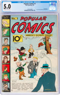 Platinum Age (1897-1937):Miscellaneous, Popular Comics #1 (Dell, 1936) CGC VG/FN 5.0 Off-white to white pages....