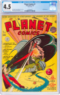 Golden Age (1938-1955):Science Fiction, Planet Comics #7 (Fiction House, 1940) CGC VG+ 4.5 Cream to off-white pages....