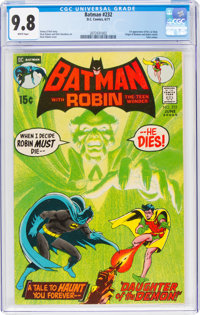 Batman #232 (DC, 1971) CGC NM/MT 9.8 White pages