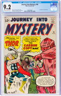 Silver Age (1956-1969):Superhero, Journey Into Mystery #90 (Marvel, 1963) CGC NM- 9.2 Off-wh...
