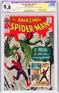Silver Age (1956-1969):Superhero, The Amazing Spider-Man #2 Signature Series - Stan Lee - Trimmed (Marvel, 1963) CGC Apparent NM+ 9.6 Slight (A-1) White pages....